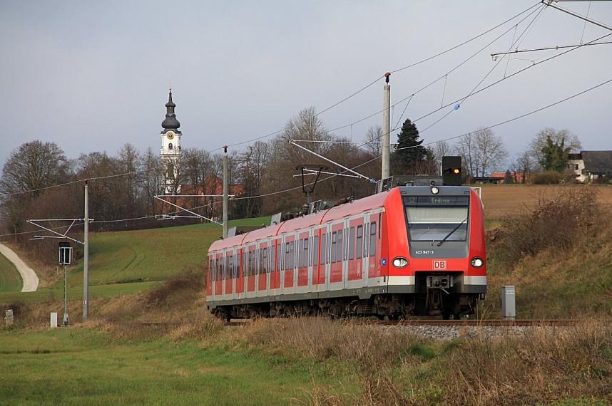 DB 423 sorozat, Dachau–Altomünster-vasútvonal