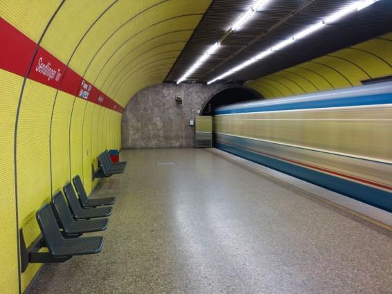 Künftig gibt es am südöstlichen Bahnsteigende auf der U1/2/7/8-Ebene einen neuen direkten Ein- und Ausgang zur Blumenstraße und eine Verbindung zur anderen Tunnelröhre (Bild: SWM/MVG)