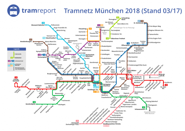 Fahrplan 2018 Mvg Stellt Entwürfe Vor