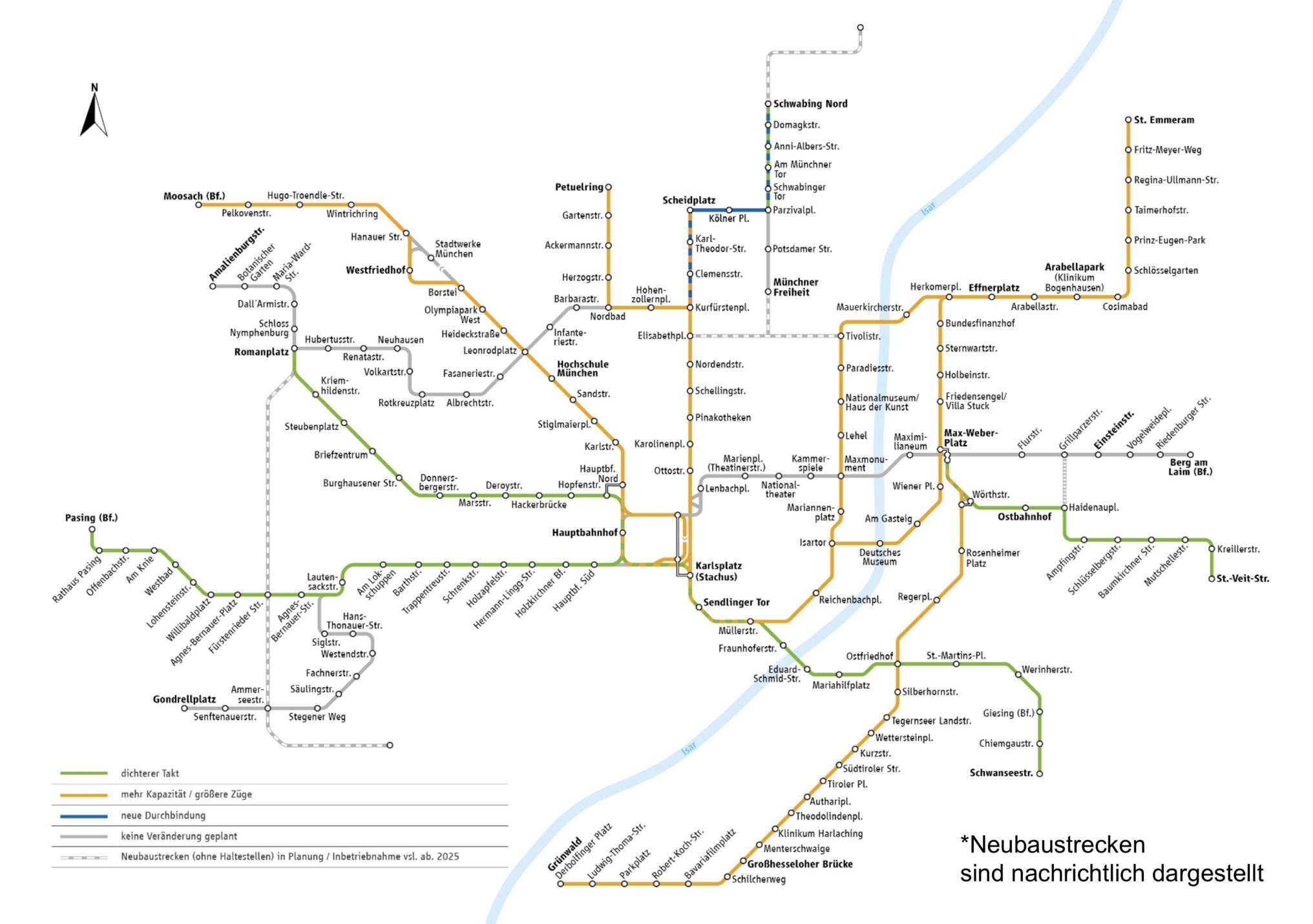 Fahrplan 2020 Mvg Stellt Planungen Vor